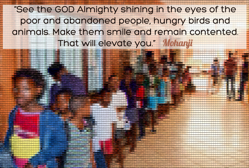 Mohanji Quote – See The God Almighty Shining In