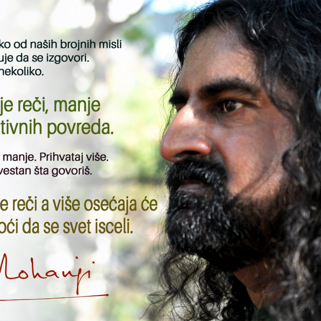 Mohanji Quote In Serbian – A Few Of Our Numerous Thoughts