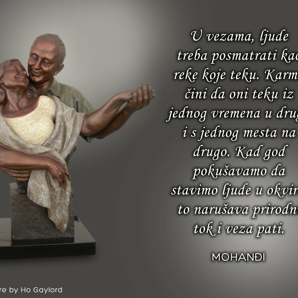 Mohanji Quote In Serbian – In Relationships People Should Be Considered