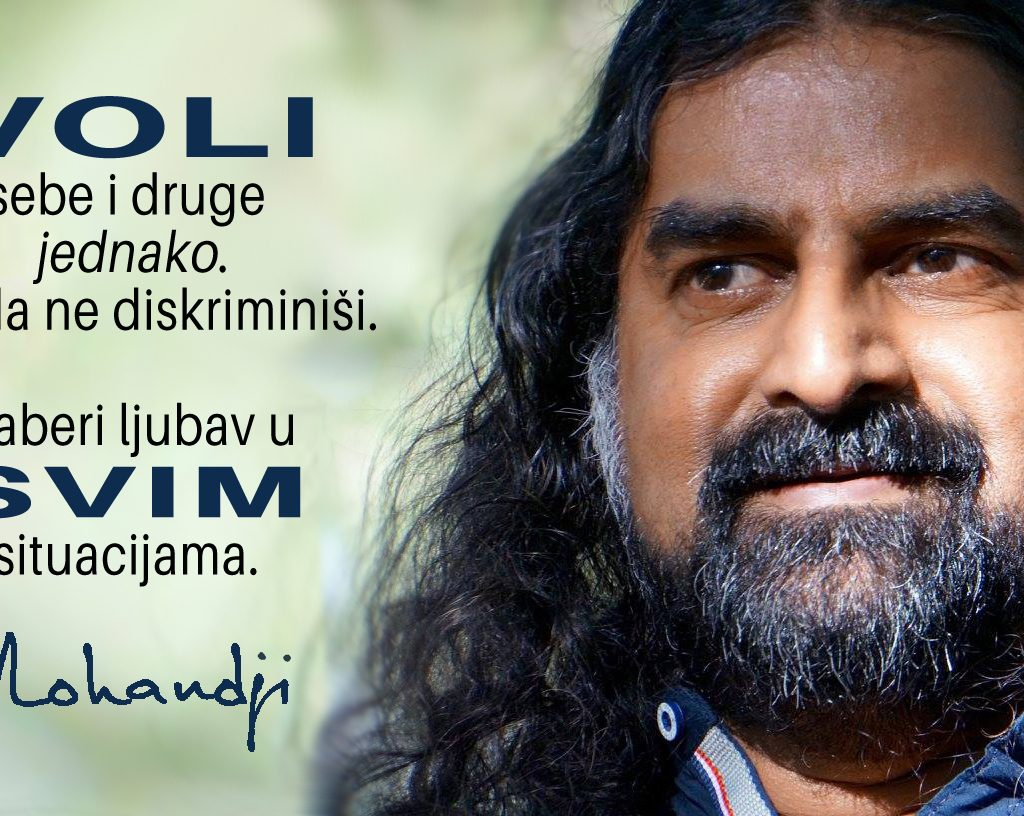 Mohanji Quote In Serbian – Love Yourself And Others Equally
