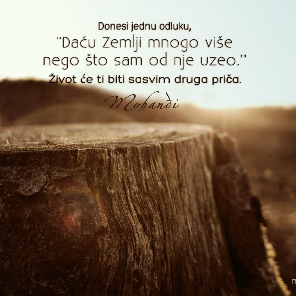 Mohanji Quote In Serbian – Take One Decision