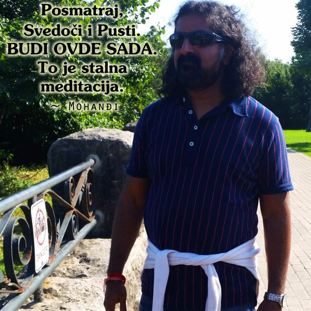 Mohanji Quote In Serbian – Watch Witness And Let Go