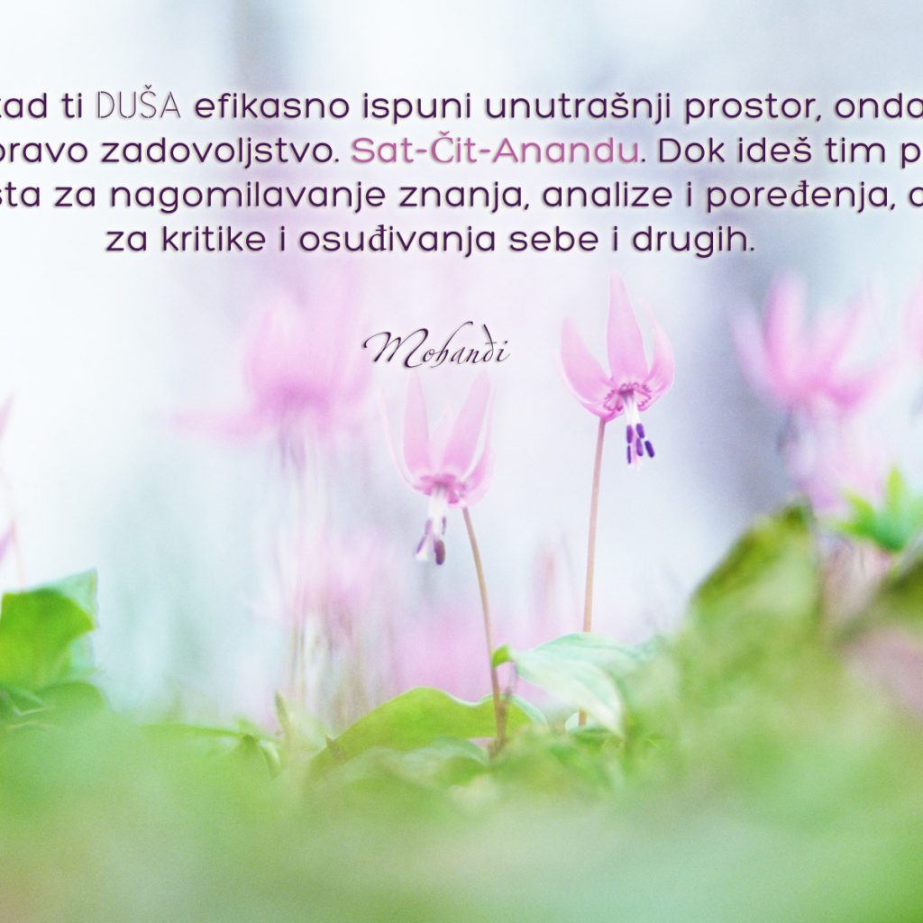 Mohanji Quote In Serbian – When Your Soul Effectively Fills Into Your Inner Space