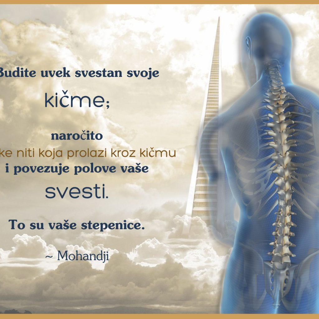 Mohanji Quotes In Serbian – Be Always Aware Of Your Spine